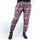 Pantalon con goma hippie Morado