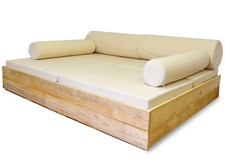 Muebles vintage con palets con ofertas hasta 62 for Sofa terraza madera