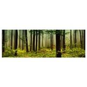 Cuadro de Verde Bosque Impresion en Lienzo 180 x 60 cm