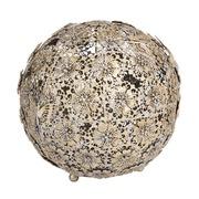 Bola Decorativa con Mariposas 26 x 26 x 24 cm