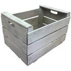 Caja reciclada de Madera Blanca 35.5 x 50 x 31