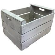 Caja de Madera Blanca Usada 35.5 x 50 x 31 Ref.CMU503531B