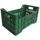 Caja Tipo Agrícola en PEHD Usada Verde 30 x 50 x 26.5 cm