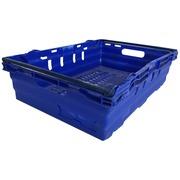 Caja Encajable en Polipropileno Azul 60 x 40 x 16.5 cm