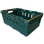 Caja Usada Apilable Polipropileno Verde 60 x 40 x 26 cm