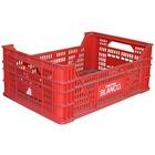 Caja Plastica Usada Tipo Agrícola 32.6 x 50 x 20 cm