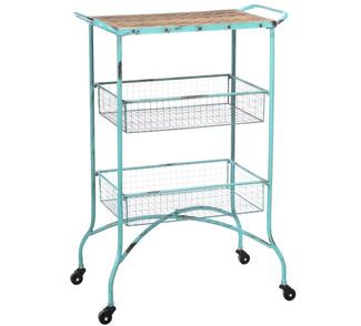 Muebles en mueblesvintage for Carrito auxiliar con ruedas