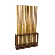 Separador de Ambiente Bambú Nogal 20 x 100 x 179 cm