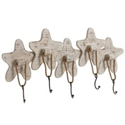 Percha de Pared Navy Estrellas de Mar 8 x 76 x 28 cm
