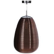 Lámpara de Techo en Cristal 25 x 25 x 120 cm