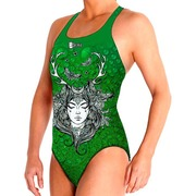 Bañador Femenino BBOSI Confort Gaia Green Outlet