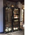 Vinoteca de madera 3 Temperaturas Alta calidad y lujo GOLD