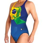 Bañador Femenino BBOSI Confort Brasil