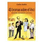 Libro 43 Bromas sobre el Vino