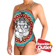 Bañador Waterpolo Femenino BBOSI Ganesh Woman Outlet Talla S