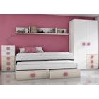 Ambiente Dormitorio Juvenil Modelo Akazie Rosa