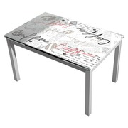 Mesa de Cocina Extensible Bisbe II Table Coffe 70 x 110 x 75 cm
