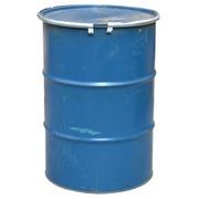 Bidón Azul de Metal Usado 60x88 cm