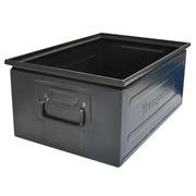 Caja Negra de Metal Usada 200 x 315 x 475 Ref.CCV470x320N