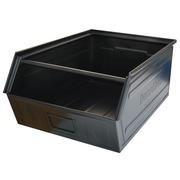 Caja Apilable Rapibox Usada Negra con Puerta Ref.CCVC200-0