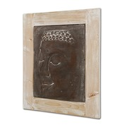 Cuadro Buda Gris 6 x 49 x 60 cm