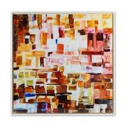 Cuadro Digital Abstracto en Acrílico 4 x 91 x 91 cm