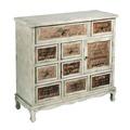 Mueble Recibidor en DM 9 Cajones 37 x 97,5 x 90 cm