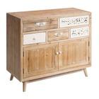 Mueble Recibidor en Madera 40 x 100,5 x 90,5 cm