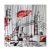 Cuadro Londres al Oleo en Aluminio 4 x 80 x 80 cm