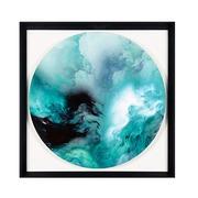 Cuadro Digital Nubes Azules 4 x 91 x 91 cm