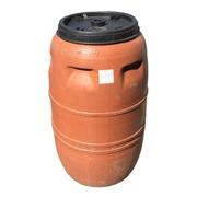 Bidón Plástico Usado 230 Litros Rosca Ref.BU5942101