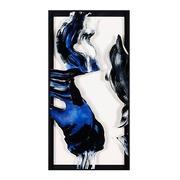 Cuadro Abstracto Azul Digital en Acrílico 4 x 61 x 121 cm