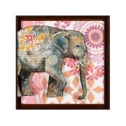 Cuadro Elefante en Acrílico 4 x 71 x 71 cm