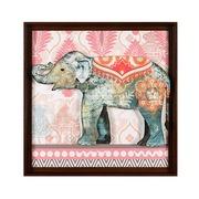 Cuadro en Acrílico Elefante Gris 4 x 71 x 71 cm