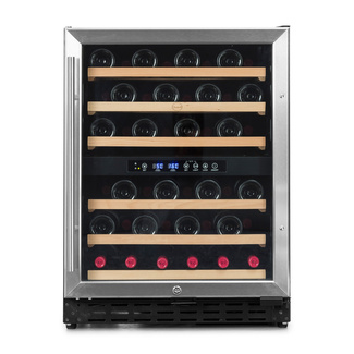 Vinoteca encastrable para 50 botellas Vinobox -  CV 50 GC 2TI