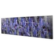 Cuadro Abstracto Purpura al Oleo 5 x 150 x 50 cm