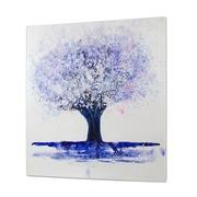 Cuadro Arbol Azul al Oleo 5 x 100 x 100 cm