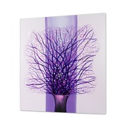 Cuadro Ramas Purpura al Oleo 5 x 100 x 100 cm