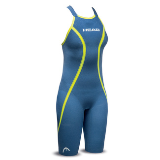 Bañador Mujer HEAD Competicion LiquidFire Core Knee Suit Closed Back FINA
