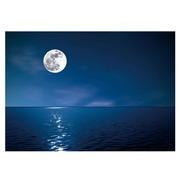 Cuadro Fotoimpresión en Cristal Luna Llena 100 x 70 cm