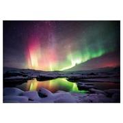 Cuadro Fotoimpresión en Cristal Aurora Boreal B 100 x 70 cm