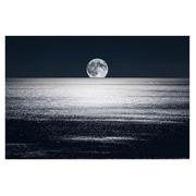 Cuadro Luna Fotoimpresión en Cristal 120 x 80 cm