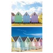 Cuadro Casetas Colores Fotoimpresión 3 x 100 x 80 cm