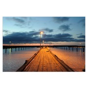 Cuadro Playa Fotoimpresión en Lienzo 3 x 100 x 80 cm