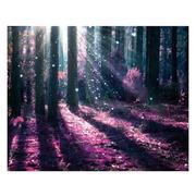 Cuadro Bosque Púrpura Fotoimpresión 3 x 100 x 80 cm