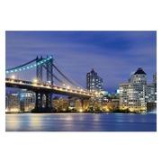 Cuadro Fotoimpresión Puente Manhattan 3 x 120 x 80 cm