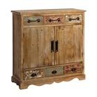 Mueble Recibidor en DM 6 Cajones 38 x 102 x 104