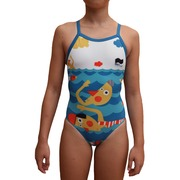 Bañador de Entrenamiento SwimGo Girls Training Swimsuits Swimmers Design