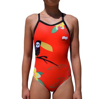 fbe9893ab Bañador de Entrenamiento SwimGo Girls Training Swimsuits Toucan Design