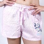 Pantalon corto pijama Rosa Licencia